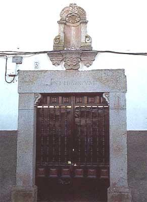 Hospital de San Diego, puerta