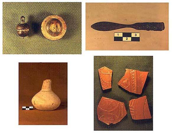 Restos arqueológicos (poblado de la Vega del Tesoro)