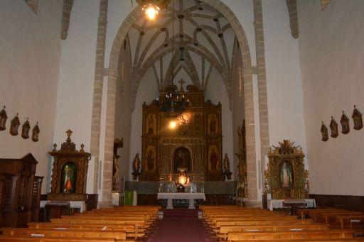 Iglesia parroquial de la Inmaculada Concepción, interior