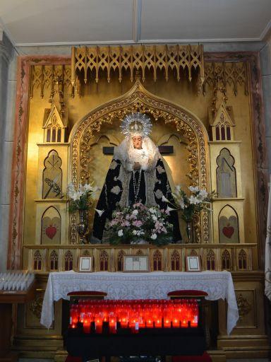Iglesia parroquial de Nuestra Señora de la Asunción, retablo de Ntra. Sra de los Dolores