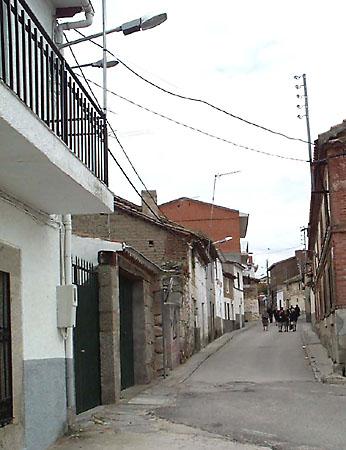 Calle a la plaza
