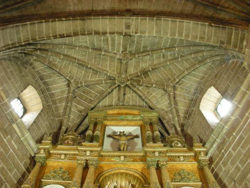 Iglesia parroquial de Santiago Apóstol, bóveda