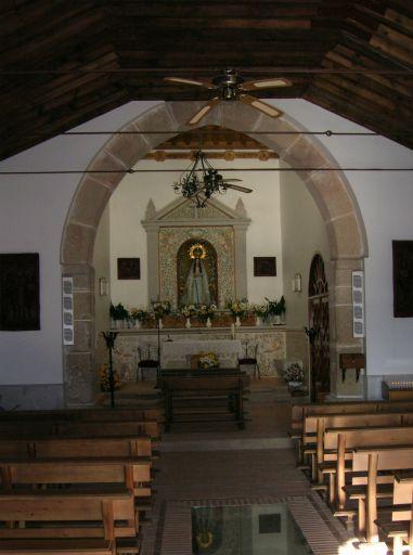 Ermita de la Virgen del Espino, interior