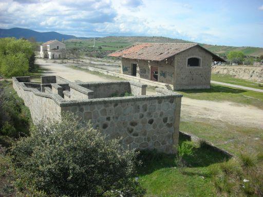 Ruta Verde de la Jara, otra vista de la estación del pueblo