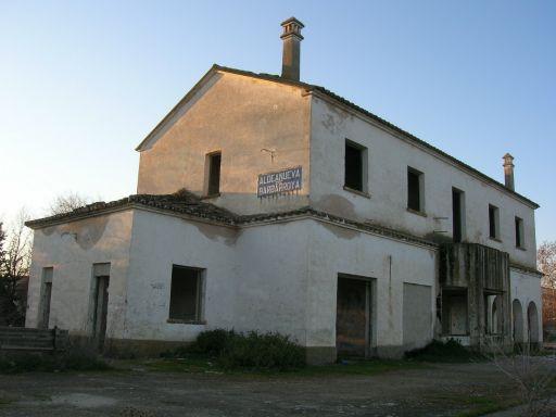 Ruta Verde de la Jara, estación del pueblo