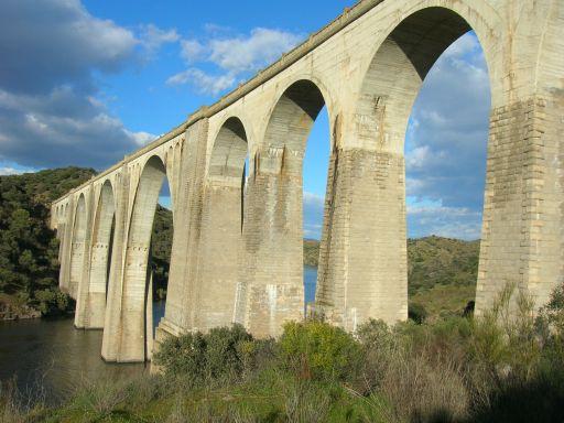 Ruta Verde de la Jara, otra vista del puente