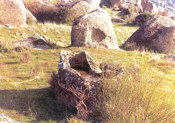 Restos arqueológicos, en Covisa