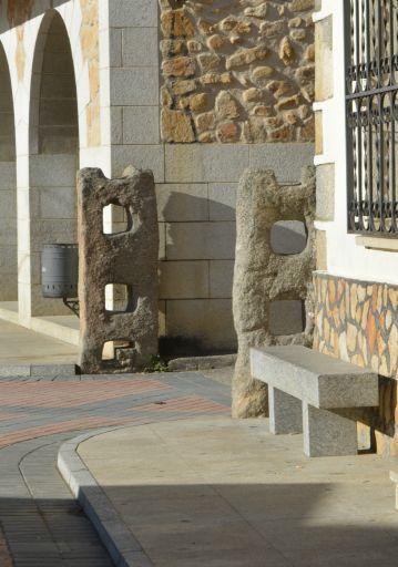 Agujas en la plaza