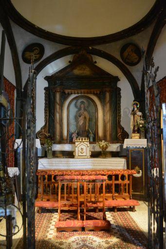 Iglesia de Ntra. Sra. de la Antigua, capilla de la beata Ana de San Bartolomé