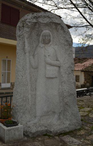 Escultura de la Beata Ana de San Bartolomé