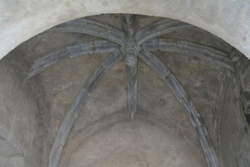 Restos de la Iglesia del Salvador, cúpula