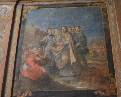 Ermita de la Virgen de la Oliva, pintura