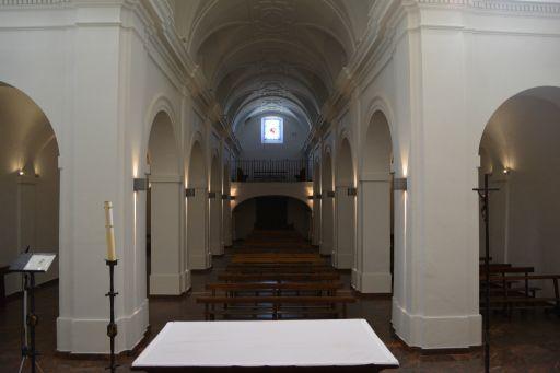 Ermita de la Virgen de la Oliva, interior coro