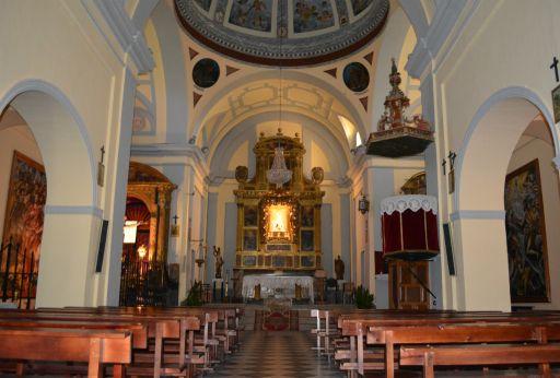 Ermita de Nuestra Señora de la Piedad, interior