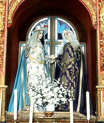Imágenes de la Visitación de la Virgen a su prima Santa Isabel