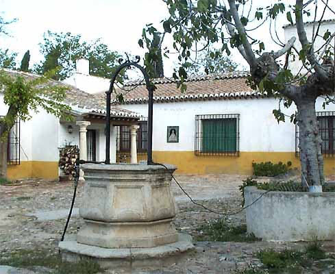 Casa Medrano, pozo (a)