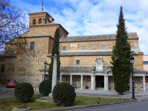 Iglesia parroquial de San Eugenio Mártir, exterior