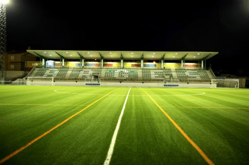 Instalaciones deportivas, campo de fútbol