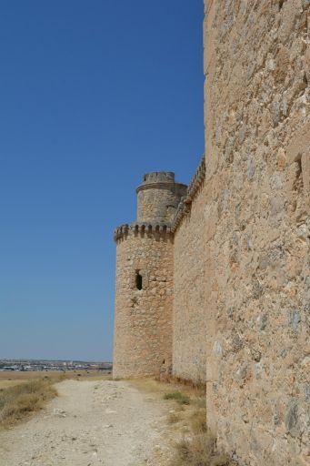 Castillo, detalle exterior