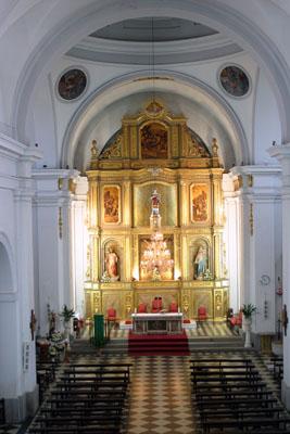 Iglesia de San Esteban Protomártir, interior