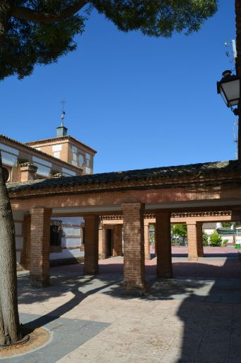 Plaza de la Libertad, soportales