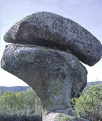 Rocas de granito