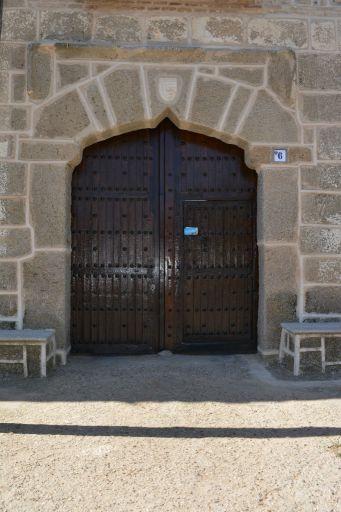Plaza del Concejo, portada