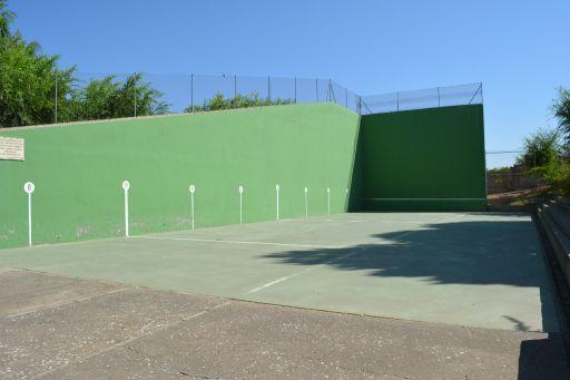 Instalaciones deportivas, frontón