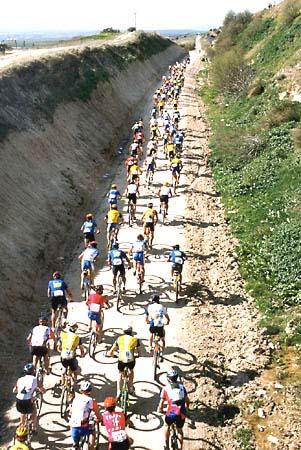 Vuelta Ciclista a España en Mountain Bike, por la Vía Verde