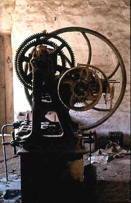 Lagar de Pozo Aldea, maquinaria