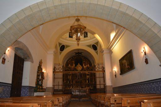 Convento de las Agustinas Recoletas, iglesia interior