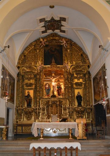 Convento de las Agustinas Recoletas, iglesia altar