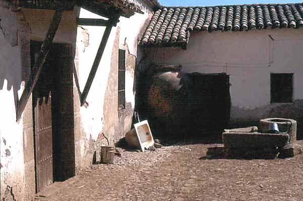 Lagar de Don Jerónimo, patio
