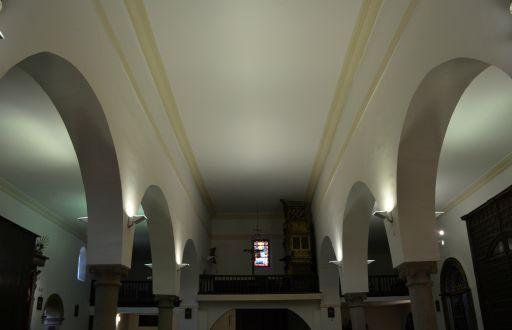 Iglesia de San Juan Bautista, interior coro