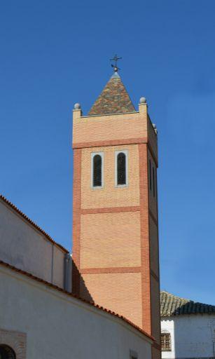 Iglesia parroquial de Nuestra Señora del Rosario, torre