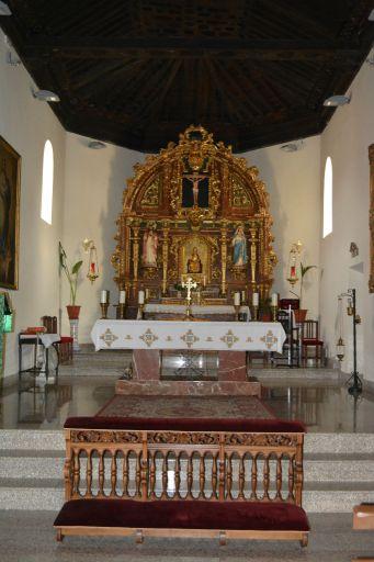 Iglesia parroquial de la Cátedra de San Pedro Apóstol, interior