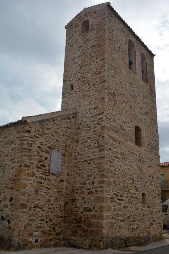 Iglesia parroquial de la Cátedra de San Pedro Apóstol, torre