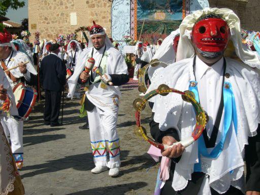 Fiestas del Corpus Christi, pecados y danzantes, danza de tejer el cordón