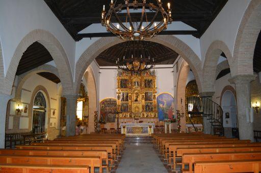 Iglesia parroquial de San Miguel Arcángel, interior