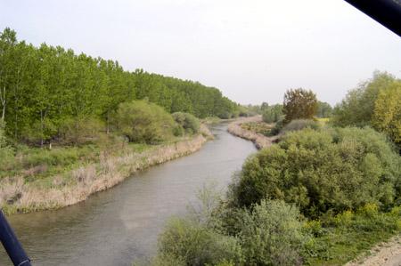 Paisaje Río Guadarrama, entorno del Parque Arqueológico