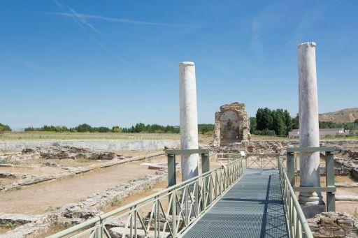 Parque Arqueológico, pasarela del Edificio palacial