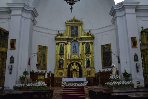 Iglesia parroquial de Santa María, Interior