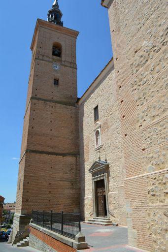 Iglesia parroquial de Santa María, torre