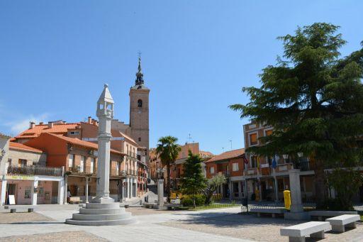 Iglesia y Plaza España