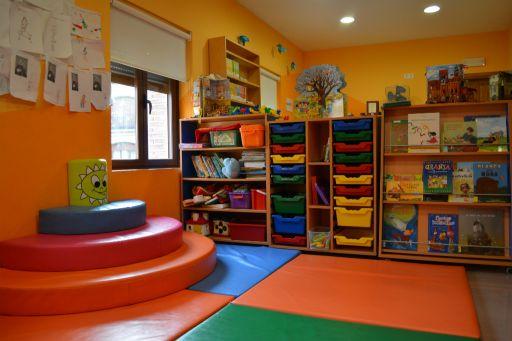 Biblioteca, sala infantil