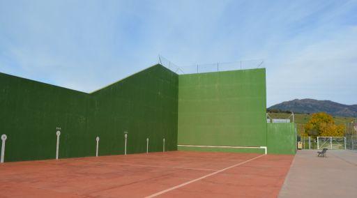 Instalaciones deportivas, frontenis