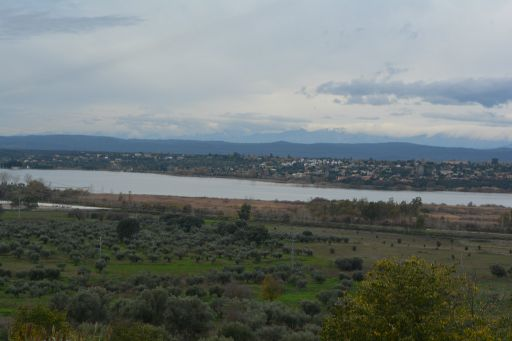Miradero, vista del embalse