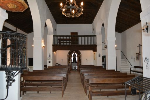 Ermita de San Blas, interior coro