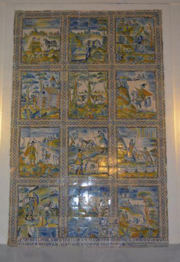 Ermita de Ntra. Sra. de la Antigua y  San Illán, cerámicas
