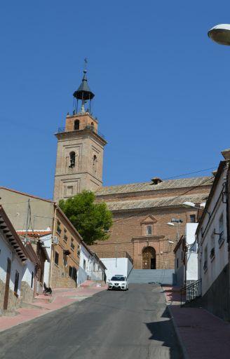 Iglesia parroquial de San Cipriano, exterior